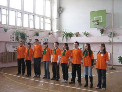 День Земли в Васькинской средней школе