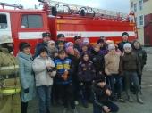 Экскурсия в пожарную часть поселка Бисерть