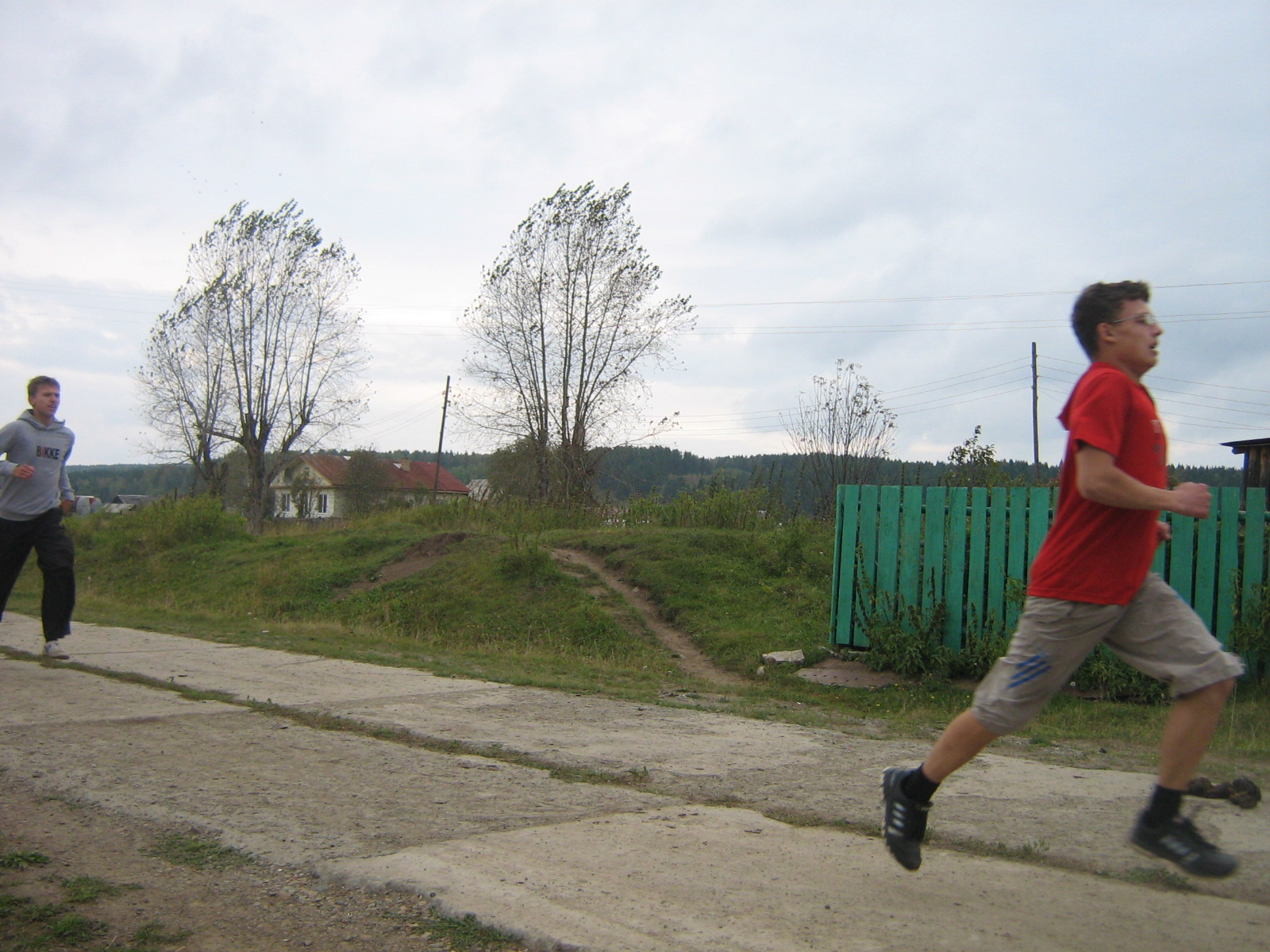 Осенний легкоатлетический кросс. 15 сентября 2011 года