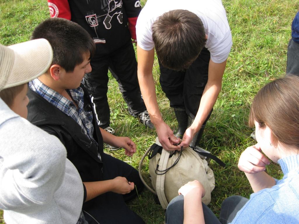 Школьный турслет - 2011
