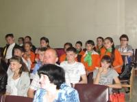 Слет детских организаций Нижнесергинского района