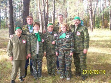 команда школы перед стартом