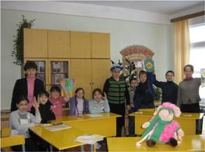 слет активистов детской организации