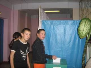 выборы в совет старшеклассников