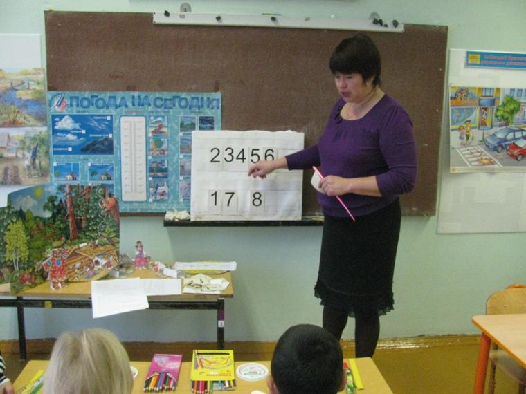 Занятие по математике в старшей группе