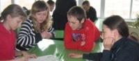 Ученики МОУ средней школы деревни Васькино